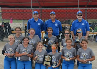 12u 2nd Place at Mitten Mayhem