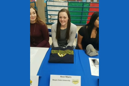 Rose Myers Commits to Wayne State