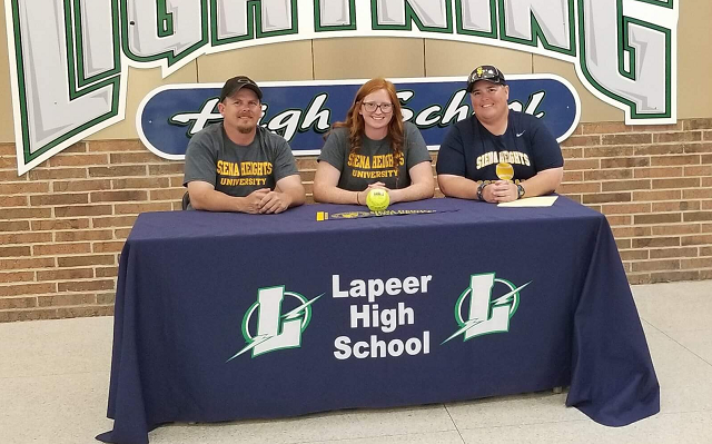 Elizabeth Howay Commits to Siena Heights University