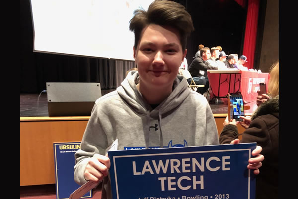 Leah Kadlitz Commits to Lawrence Tech