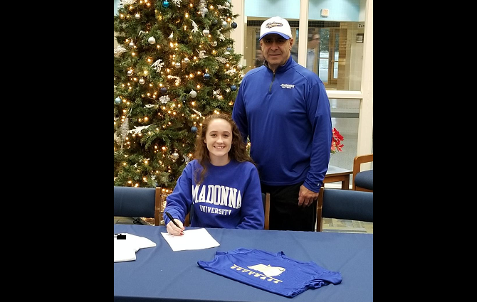Maeson Schlaud Commits to Madonna University